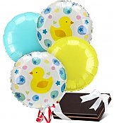 Balloons & Chocolate: New Baby Balloons & Chocolates-4 Mylar