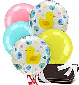 Balloons & Chocolate: New Baby Balloons & Chocolates-5 Mylar