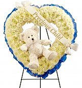 Funeral Wreaths: Precious Child Floral Tribute