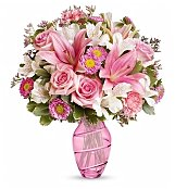 Flower Bouquets: Tickled Pink