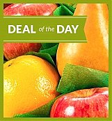 -Geo Low Price: Deal of the Day Fruit Basket