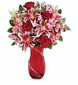 Flower Bouquets: Wrapped with Passion Bouquet