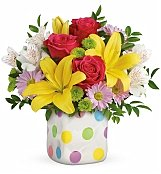 Roses: Delightful Dots Bouquet