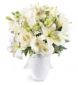 Flower Bouquets: Purity of Heart Sympathy Bouquet